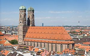 Iconic Frauenkirche Church of Munich