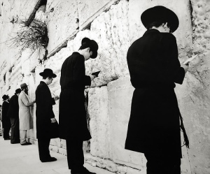 Praying at the Temple Mount